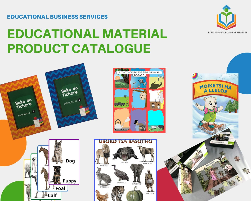 Educational Material Product Catalogue Cover - Educational Business Services